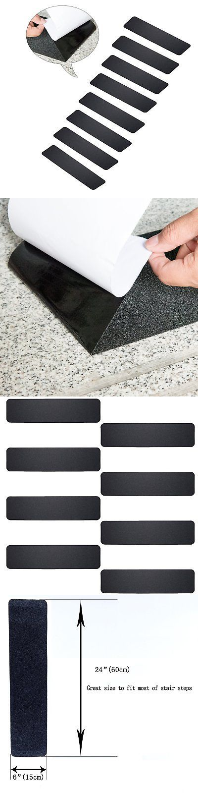 Best Stair Treads 175517 Mbigm Pack Of 8 Non Slip Safety Step 400 x 300