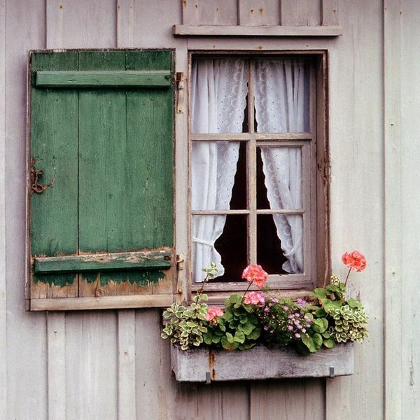 The Shutters The Romantic Clothing Of The Window Room