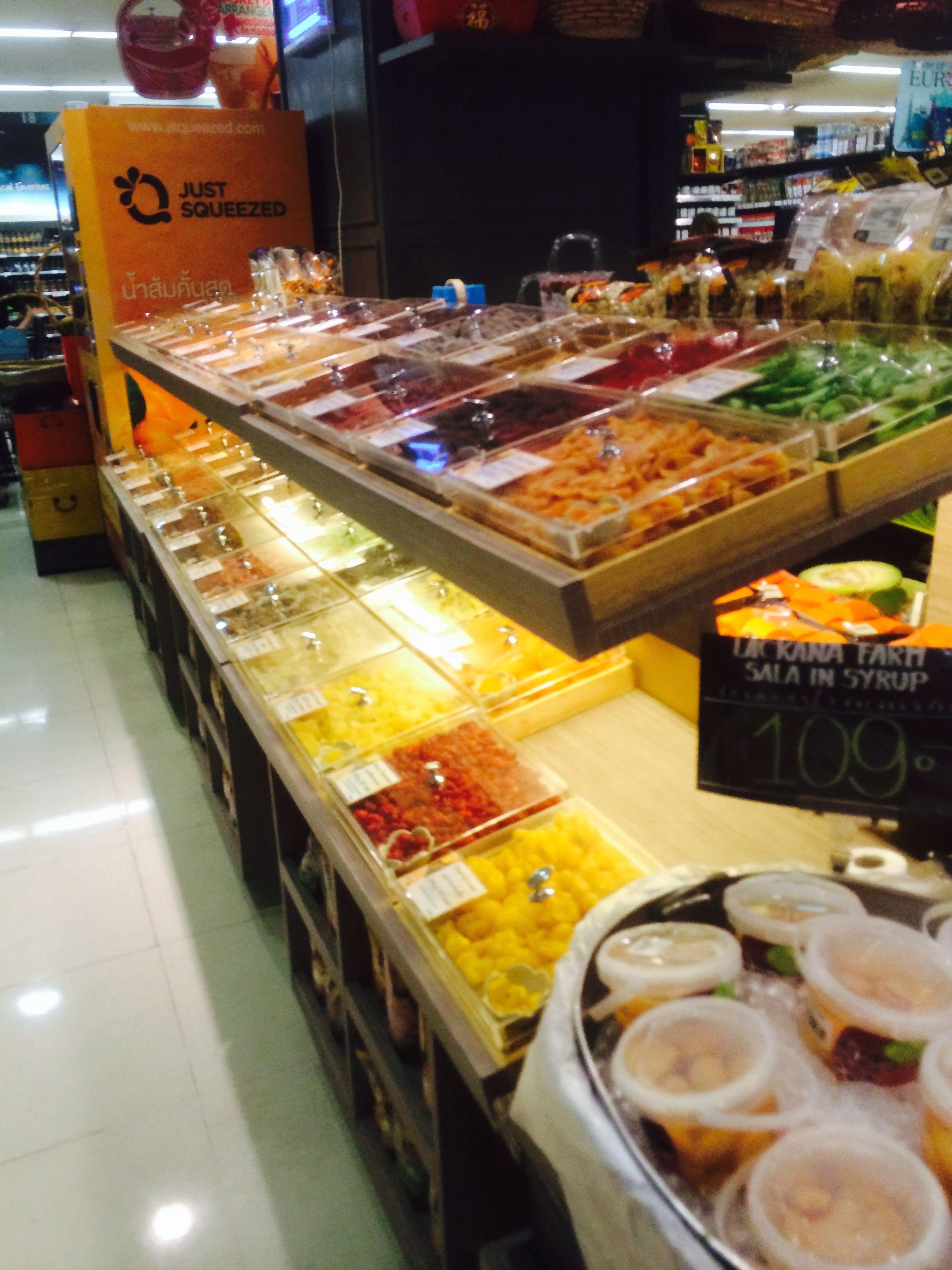 Central food hall bangkok thailand food visual