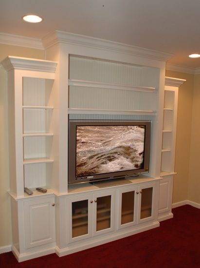 Sorry No Glass Doors With Young Children Entertainment Wall Units Home Built In