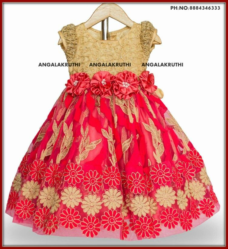 Frock For Baby Girl By Angalakruthi Boutique Bangalore