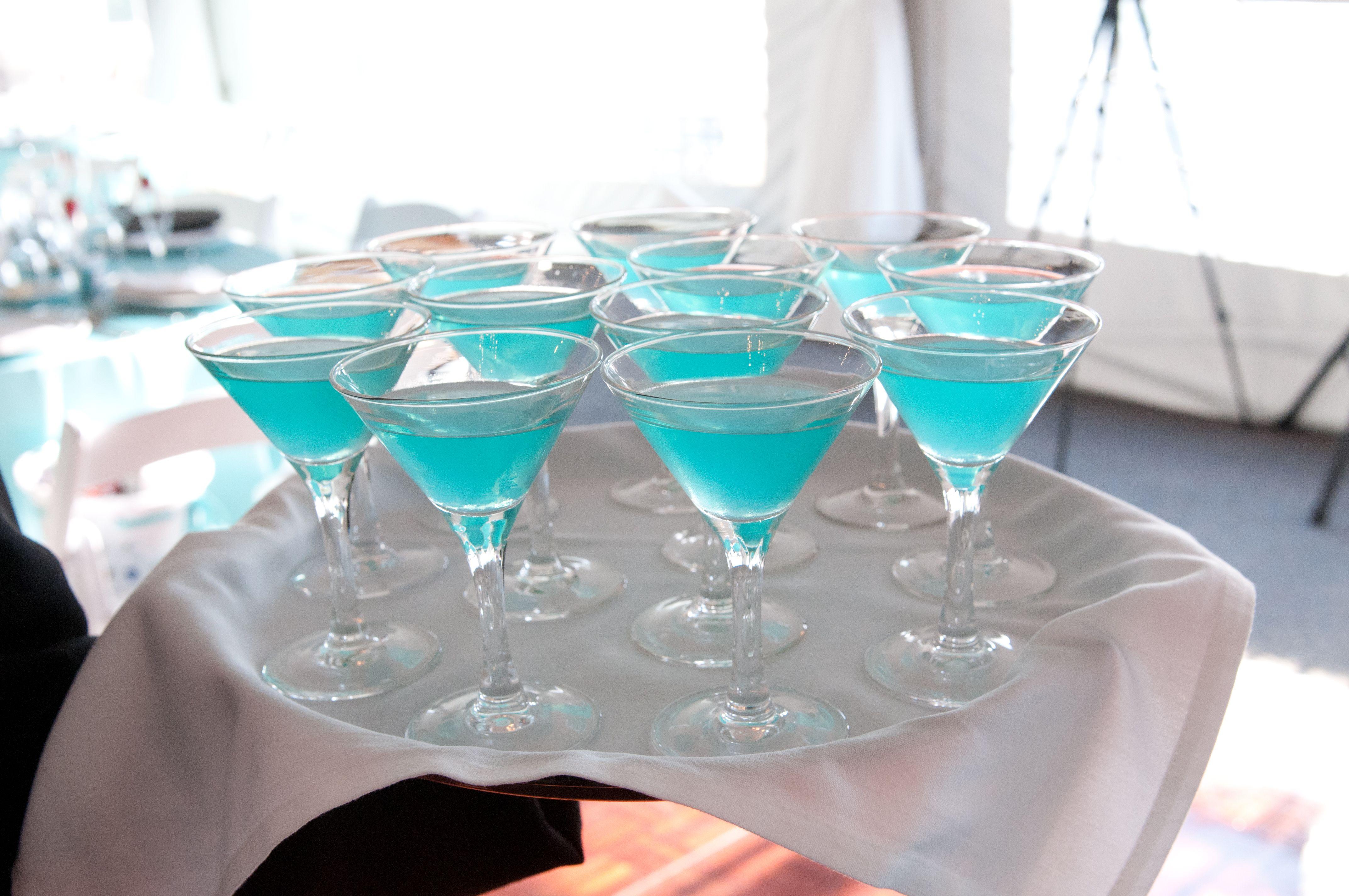 Tiffany blue signature drink...Tiffanytini Vodka, sprite