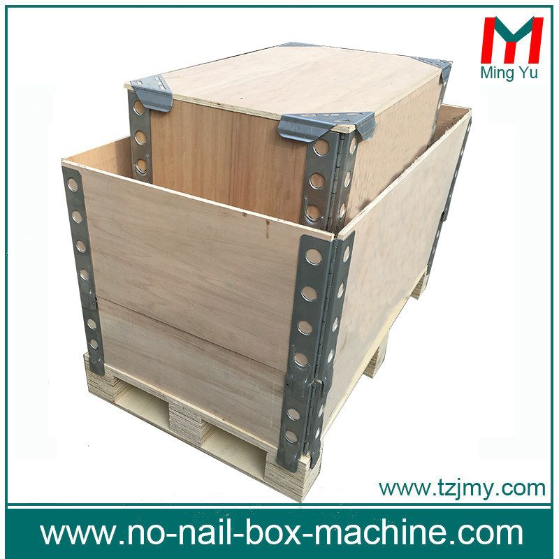 Pallet Collar Thickness 5 18mm Foldable Wooden Create Collapsible Wooden Create Size Can Be Customerized Pallet Collars Pallet Wooden Pallets