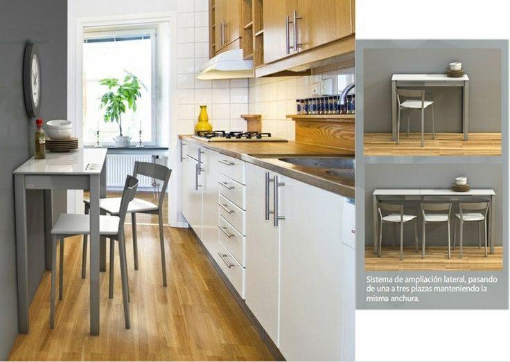 cocina alargada estrecha - Buscar con Google | Pisos | Pinterest ...