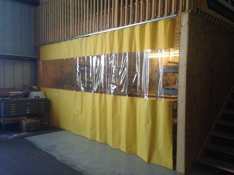 Garage Divider Curtains Room Divider Curtain Divider Wall