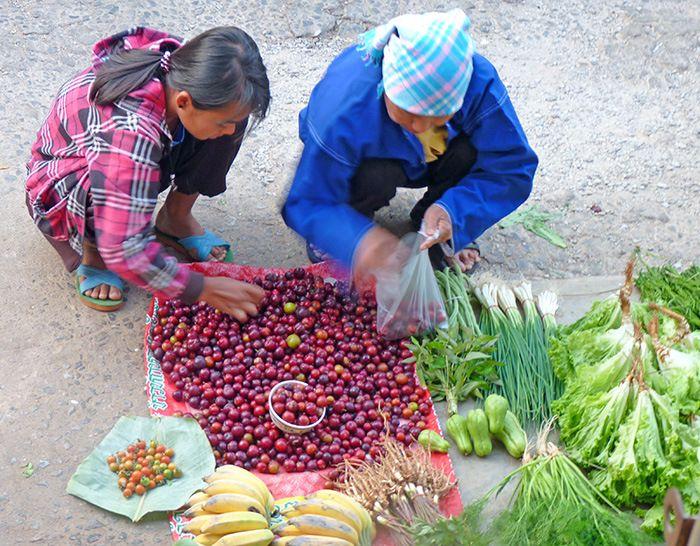 marché ethnique mae salong {Thaïlande} Mae Salong : dépaysement et émerveillement