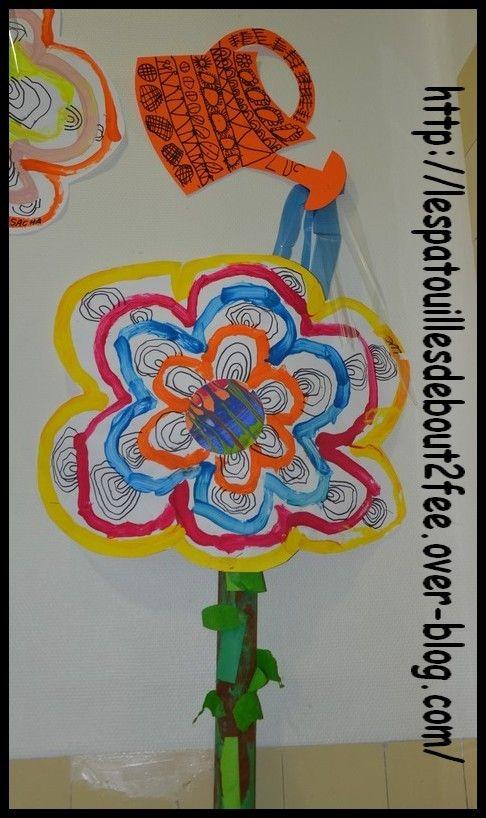 Grande Fleur Qui Pousse 5 Printemps Pinterest Fleurs Grandes