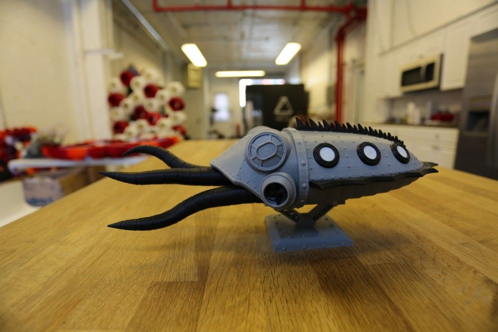 Beware of the 3D Printed Gowanus Monster Lurking in Brooklyn's Gowanus Canal