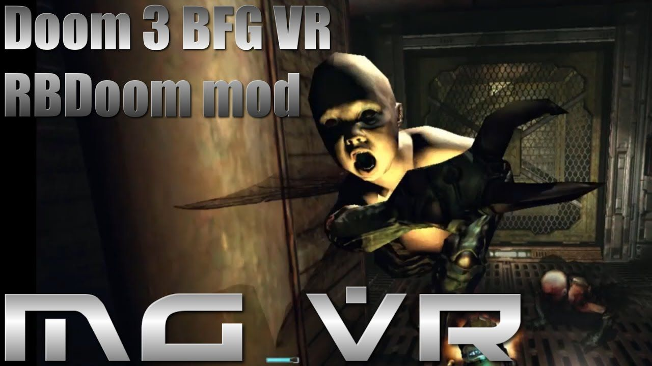 Doom 3 BFG VR RBDoom Mod Part 8