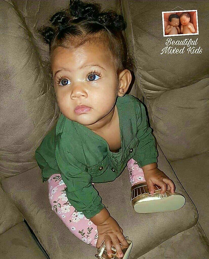 Logan - 7 Months • African American & Caucasian | Peas ...