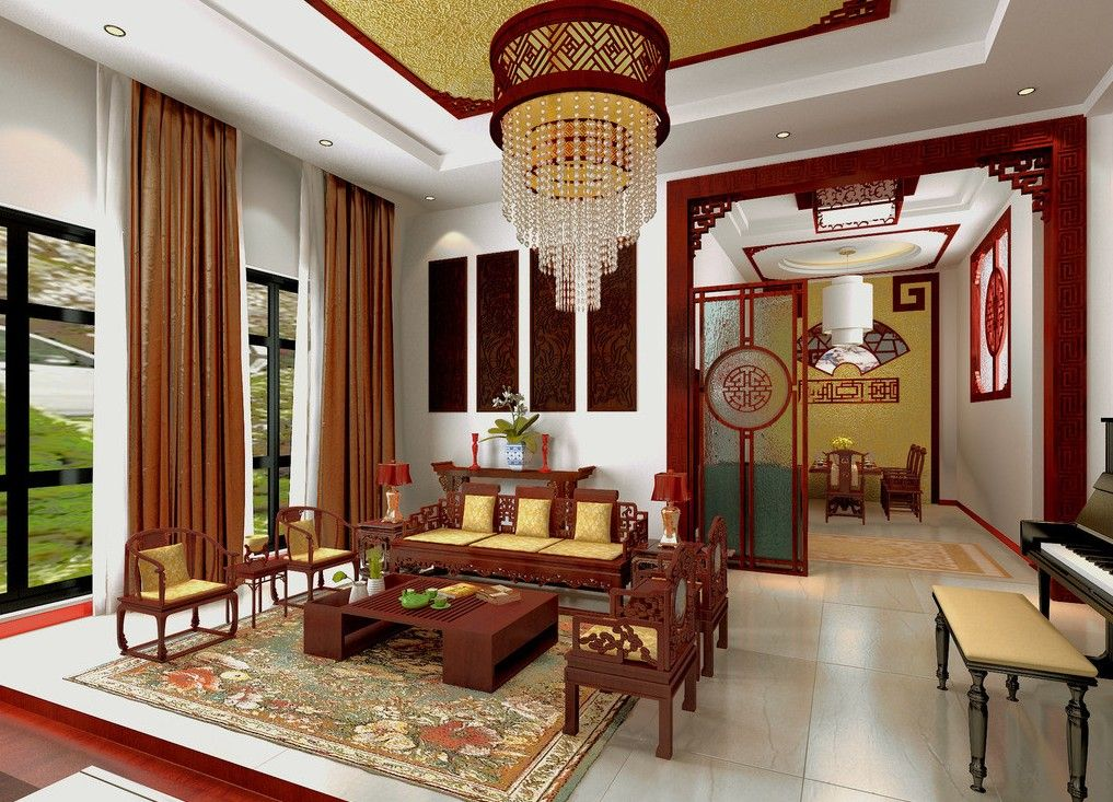 Traditional Living Room Interior Design Beautiful