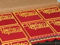 Creative Custom Invitations in A box