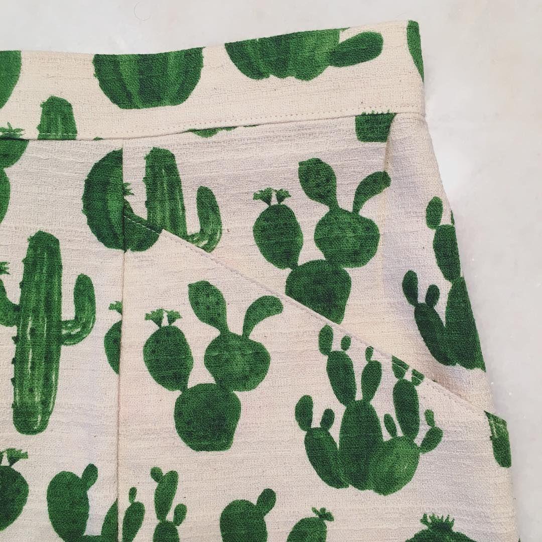 Cactus-printed Selene skirt | Seamwork Winte/Spring Inspiration ...