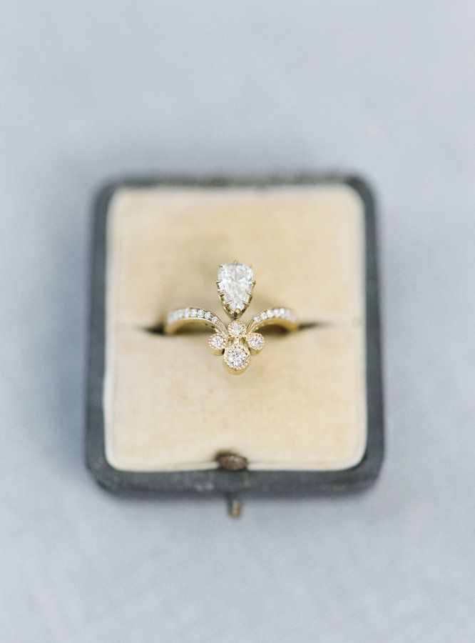 eccentric ant on listing smokey gold pin vintage ring diamondten etsy cocktail rings com leaf deco s engagement quartz art white by antique