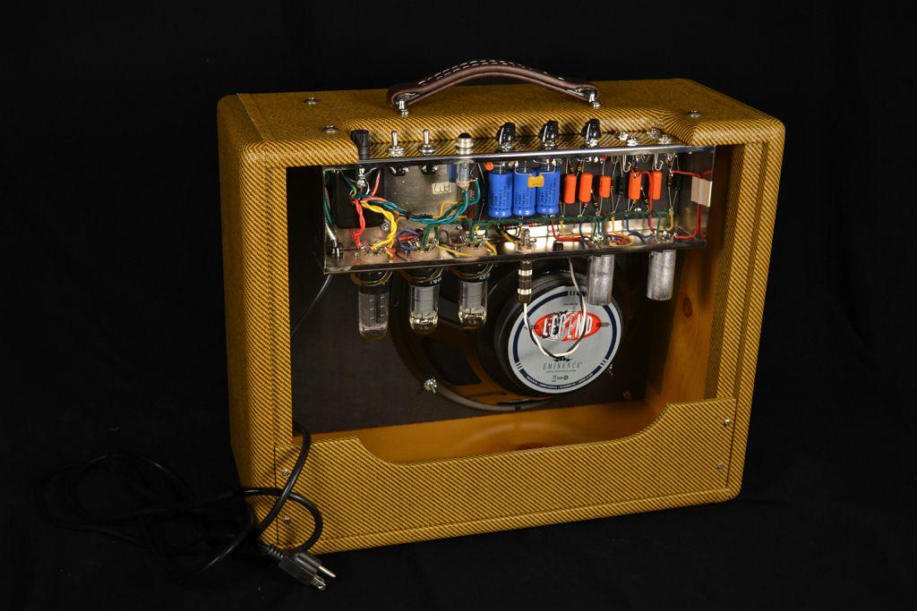 4 Fender Tweed Amp Clones Diy guitar amp, Diy amplifier, Amp