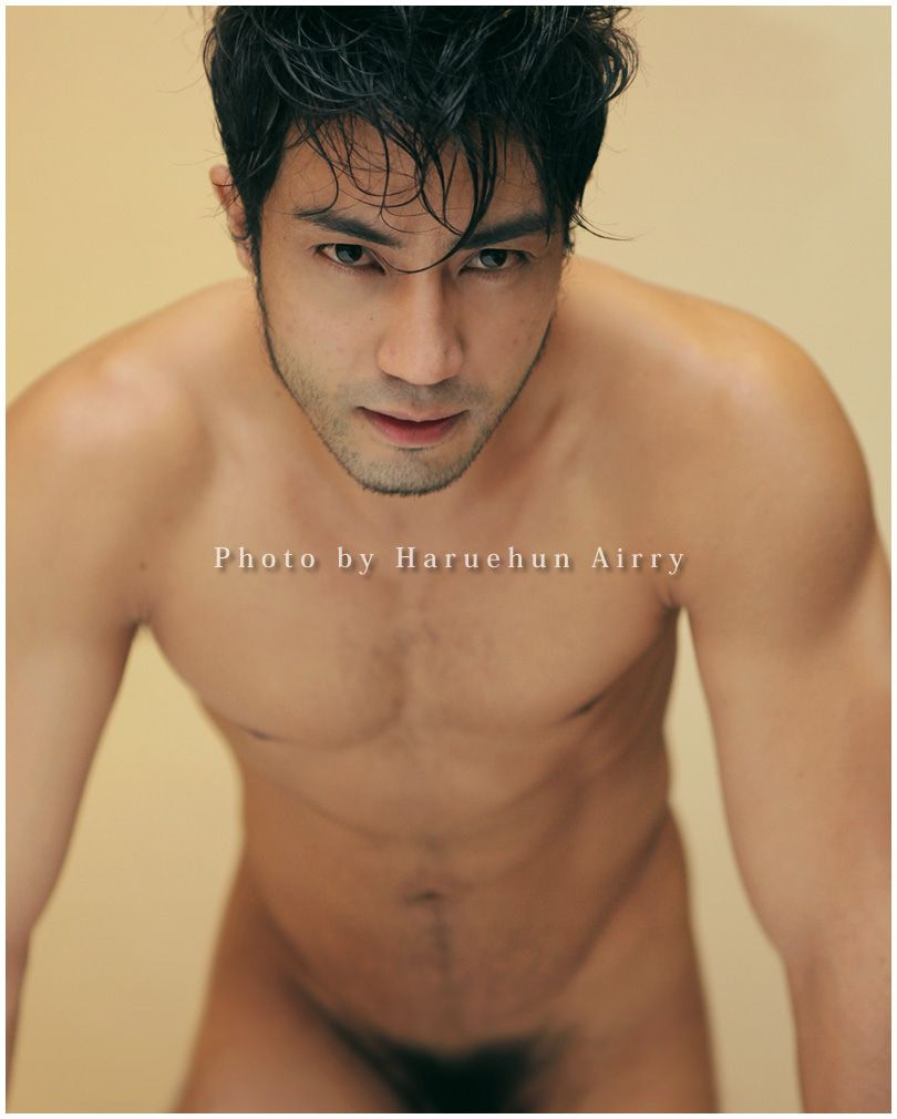Asian male model dimples