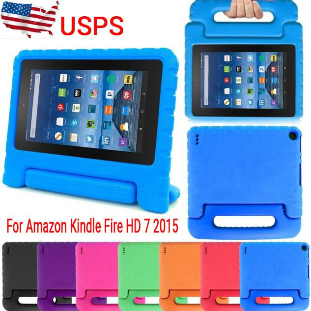 Shockproof Case Safe Shell Stand Handle Cover Fr Amazon Kindle Fire Hd 7 2015 Us Onfine2009 Kindle Fire Hd Amazon Kindle Fire Kindle Paperwhite Case
