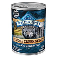 BLUE Wilderness® Wolf Creek Stew™Grain Free Adult Dog Food
