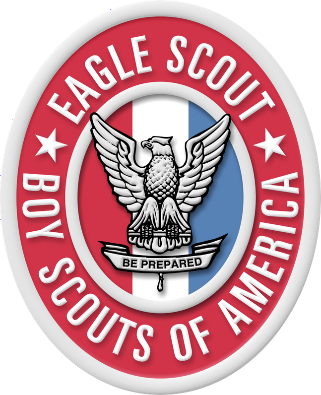 Large Eagle Scout Badge And Medal Image For Presentations Boy Scouts Eagle Eagle Scout Badge Eagle Scout