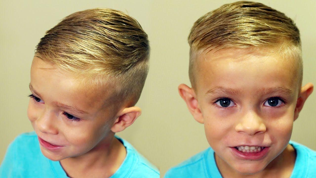 Boy Hair Styles: HOW TO CUT BOYS HAIR // Trendy Boys Haircut Tutorial