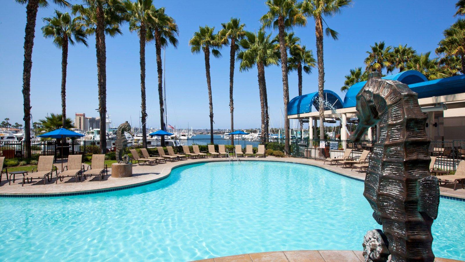 Sheraton San Go Hotel And Marina Lagoon Pool Places To