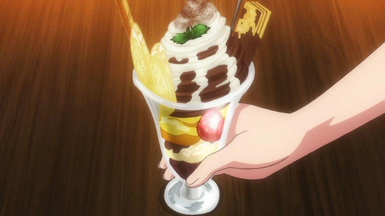 Pin by myst on anime dessert chocolate parfait food