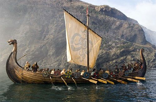 Image result for Viking boats