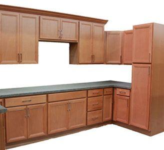 Mesa Beech Wheat Kitchen Cabinets Closeout Builders Surplus