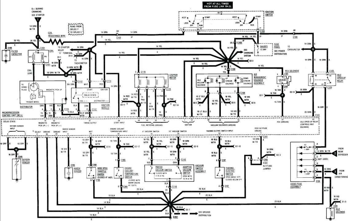 ford mustang wiring diagram 1988 50 diagrams