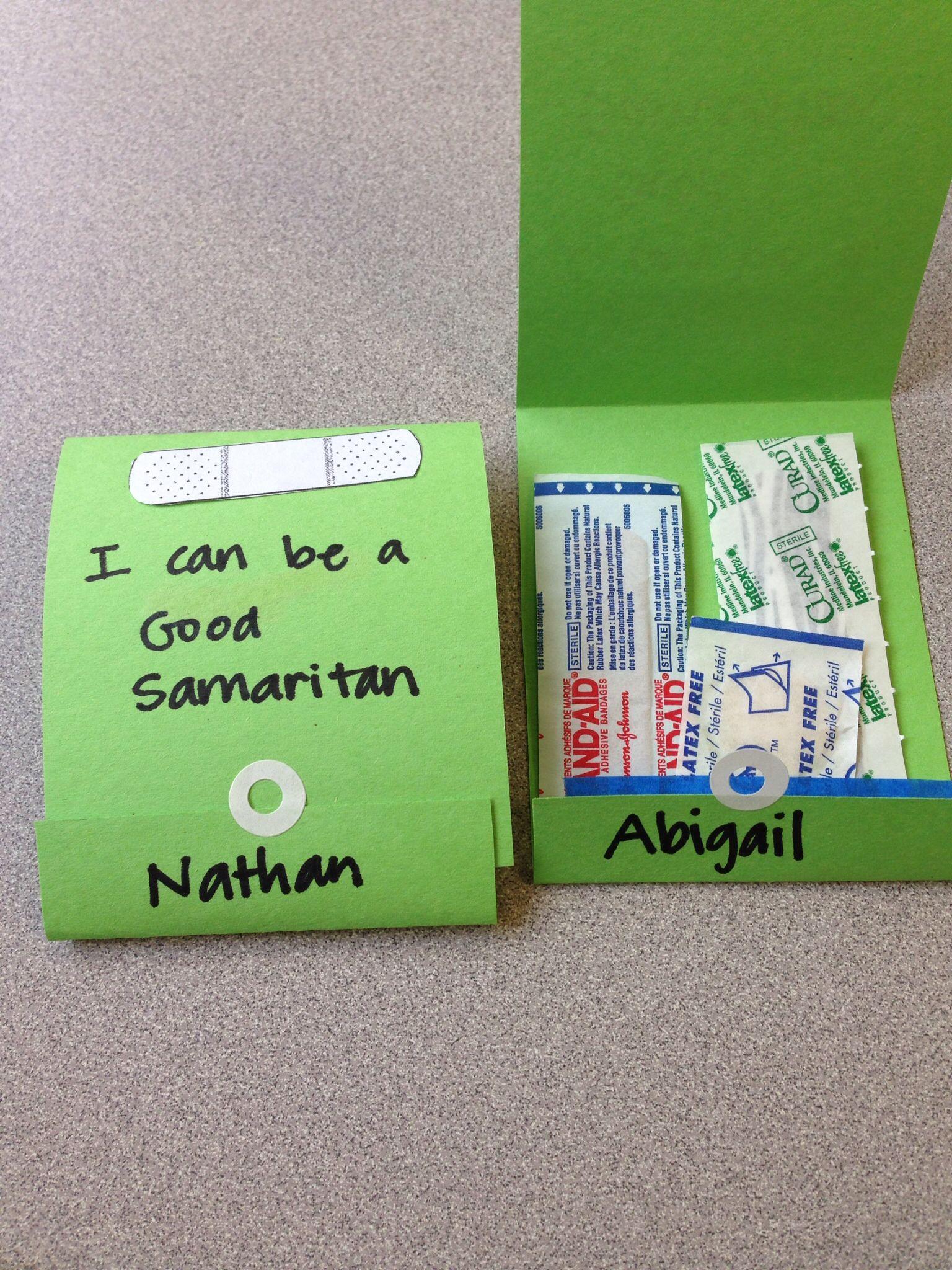 Good Samaritan Vbs Craft