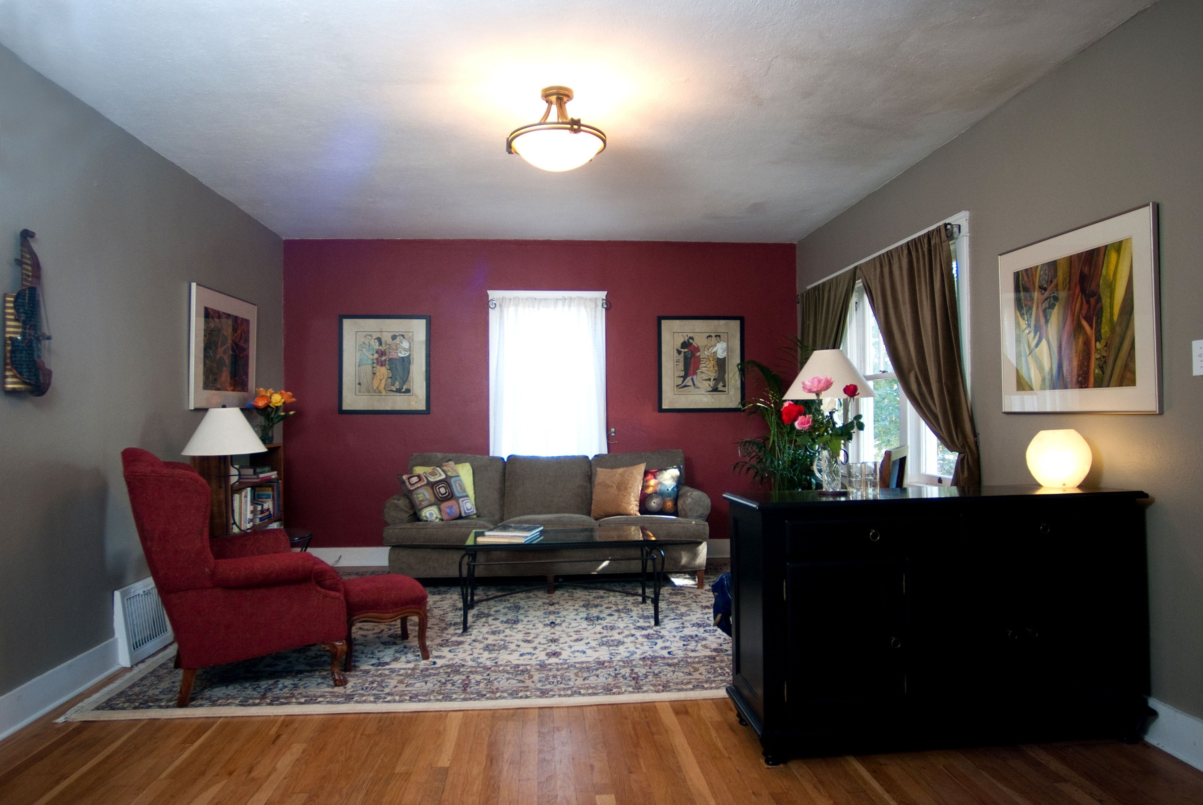 Red and Brown Living Room Ideas, 51 red living room as ...