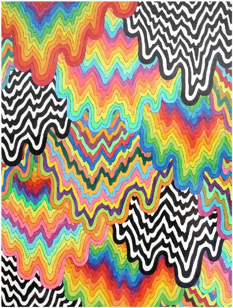 Jen Stark - Cascade    Effektive Bilder, die wir über  arte cool  anbieten  Ein...