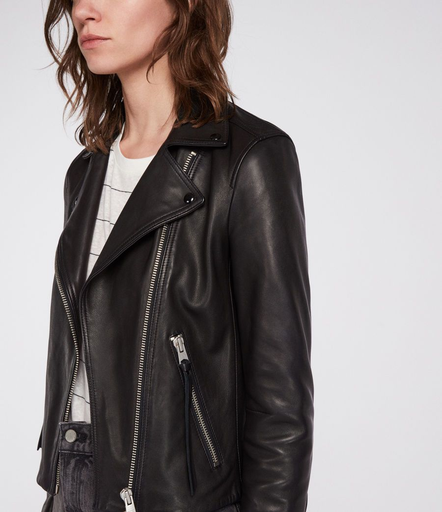 Dalby Leather Biker Jacket With Images Leather Jacket Men