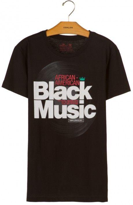 9b23df6665946 Osklen - T-SHIRT VINTAGE BLACK MUSIC - vintage - t-shirts - men ...