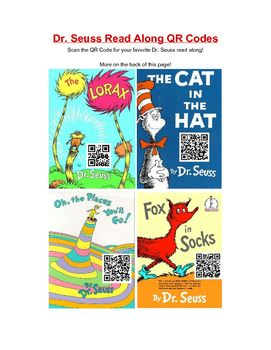 883043971f1 This sheet features some of Dr. Seuss  most popular books among children  from read