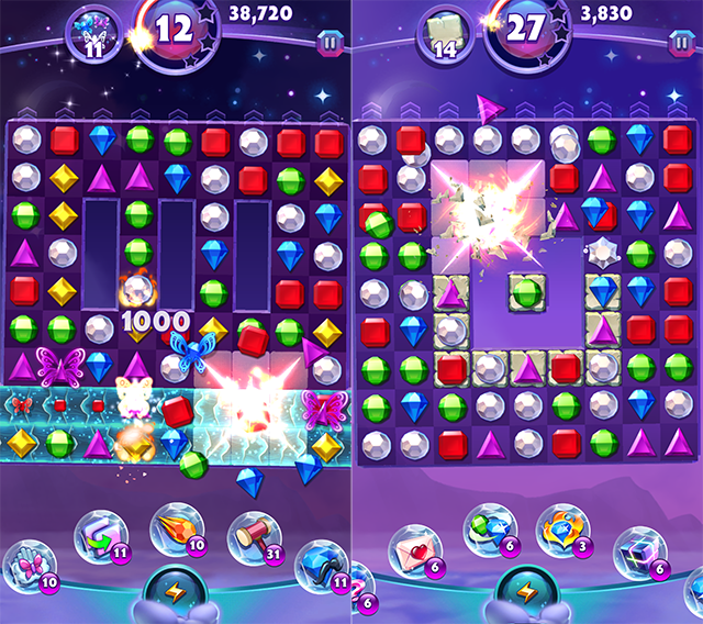 EA, PopCap Launch Bejeweled Stars on iOS, Android