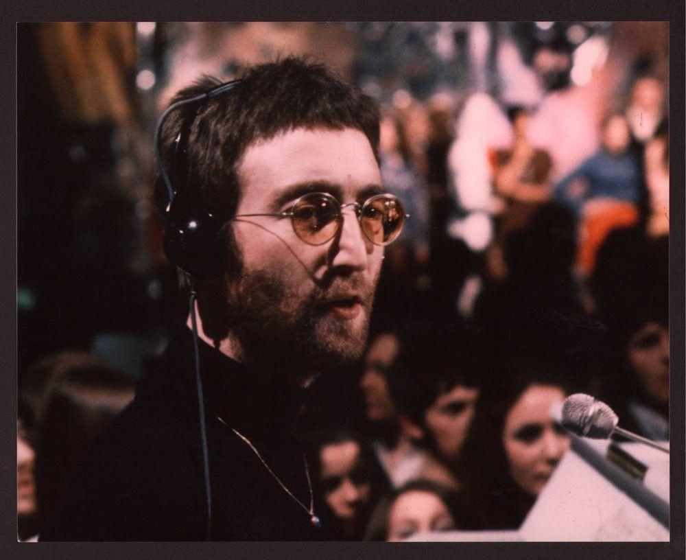 Instant Karma 1970 Filming Performances Of Instant Karma We All Shine On For Top Of The Pops Bbc Tv Studios London 11 John Lennon Lennon Instant Karma