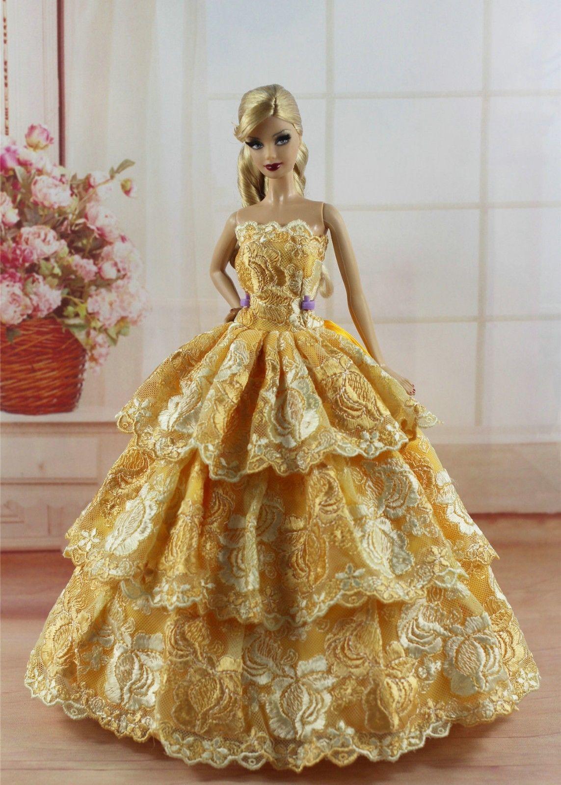1fa8800fc9697 Details about Lot 20 items= 10 Princes Dress/Wedding Clothes/Gown+10 ...
