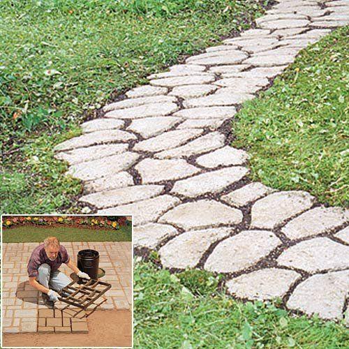Pathmate Concrete Stepping Stone Mold   Recherche Google