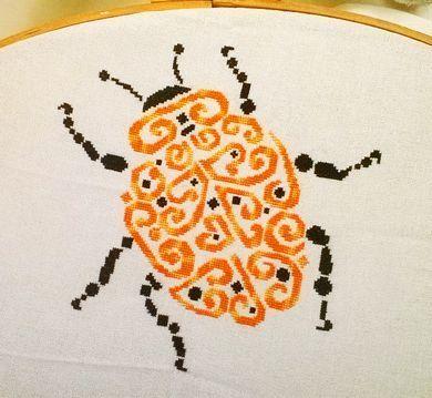 Tribal Ladybug