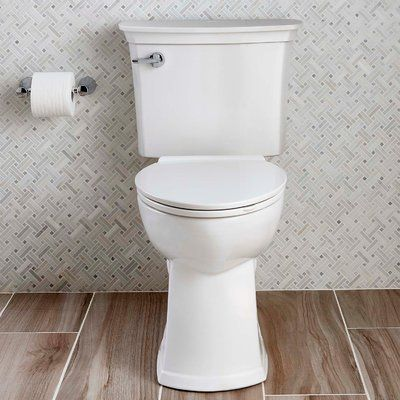 American Standard Acticlean 1 28 Gpf Elongated Two Piece Toilet