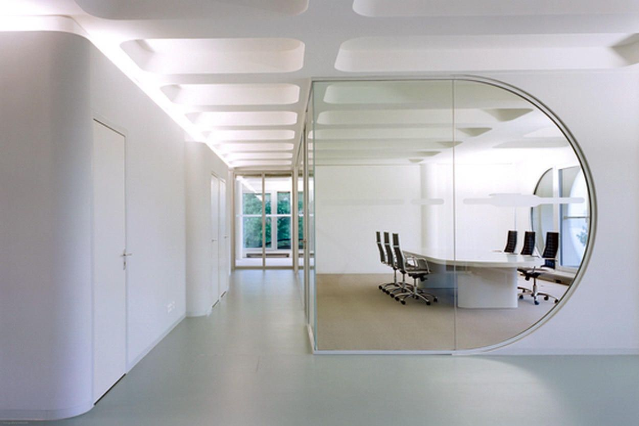 White Office Interior Design With Images Office Interior