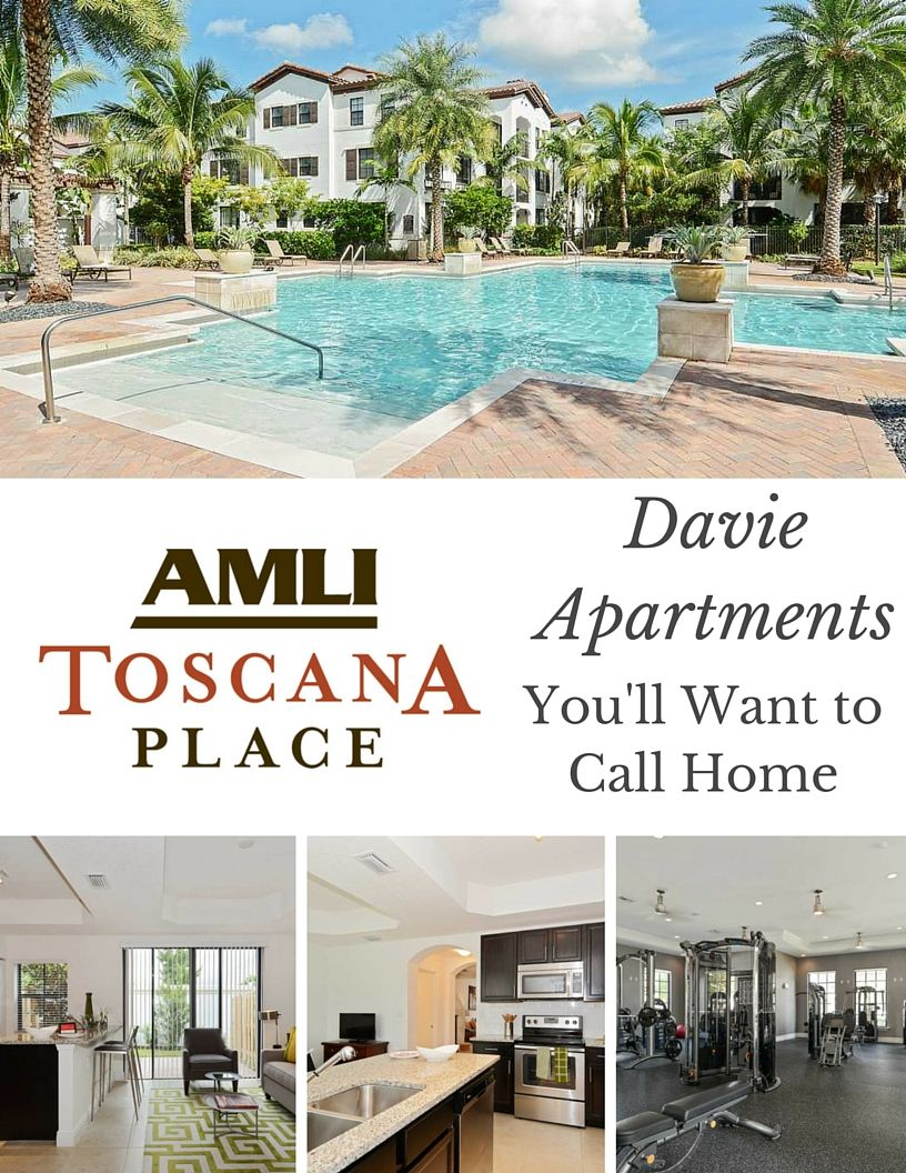 AMLI Toscana Place: Davie Apartments You'll Want to Call