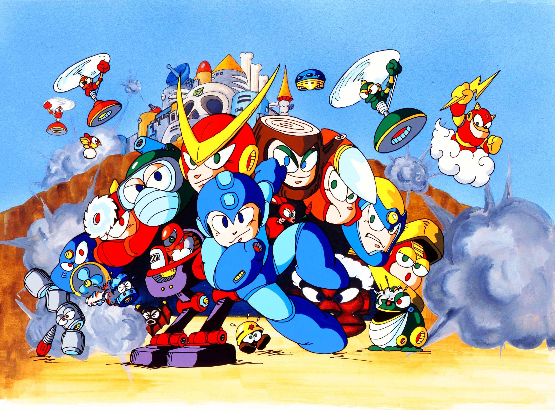 MegaMan Mega man, Cover artwork, Mega man 2