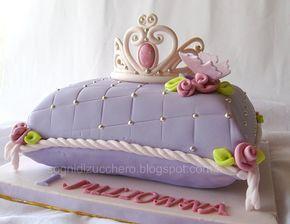 Torta Cuscino Passo Passo.Pillow Cake Torta A Forma Di Cuscino Torte Per Bambini