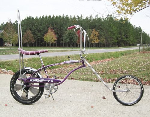 Rare Purple Huffy Rail Slingshot 5 Muscle Bike From The Schwinn