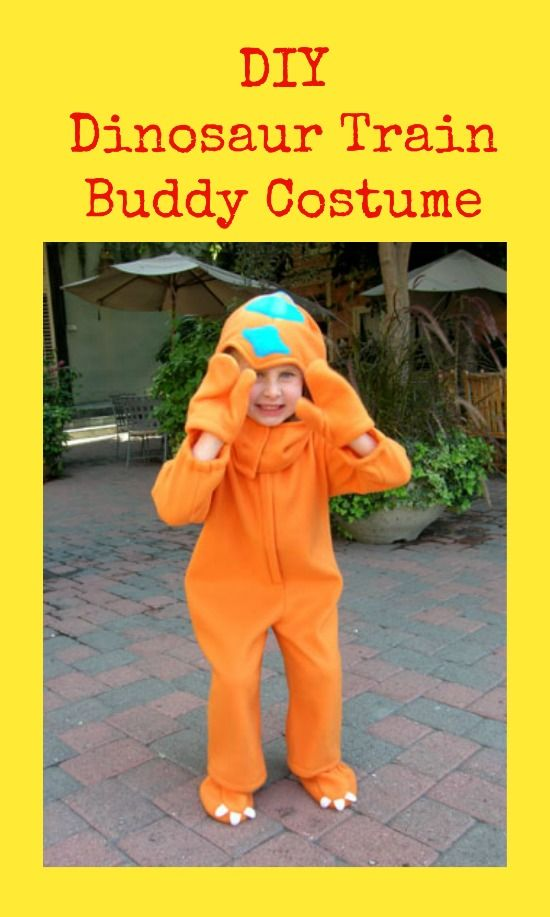 DIY Dinosaur Train Buddy Costume  sc 1 st  Pinterest & DIY Dinosaur Train Buddy Costume | Dinosaur train Costumes and ...