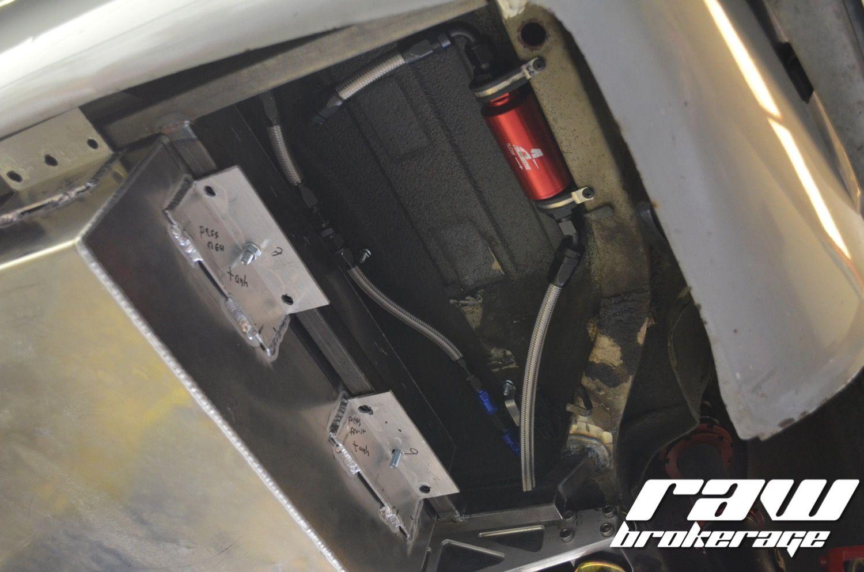 John's Custom Fuel Cell Install (Part 4): Plumbing | Datsun