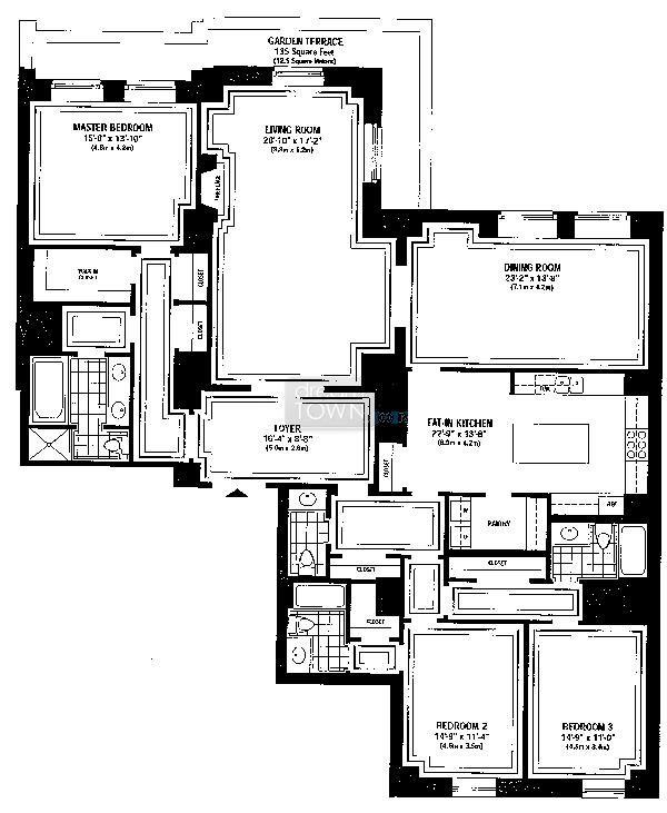 159 E Walton Floor Plans Floor Plans House Floor Plans Vintage House Plans