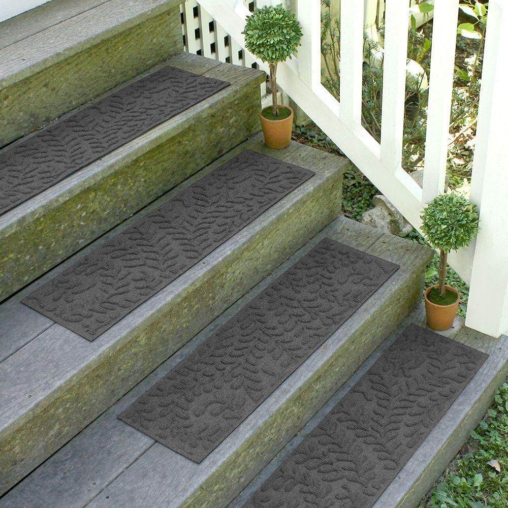 Best Aqua Shield Charcoal 8 5 In X 30 In Boxwood Stair Tread 640 x 480